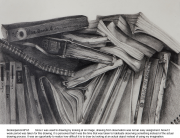 Books,pencil,caia,drawing,드로잉,foundation,파운데이션,유학미술,미술유학,포트폴리오,카이아