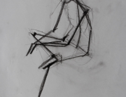 Figure-drawings,skeleton,colored-pencil,caia,portfolio,유학미술,영국미술유학,미술유학,포트폴리오,카이아
