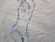 oyj2,nude-croquis,누드크로키,미국미술유학,포트폴리오,카이아유학미술,caia