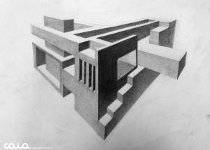 perspective,pencil,drawing,소실점,기초드로잉,foundation,파운데이션,유학미술,미술유학,포트폴리오,카이아